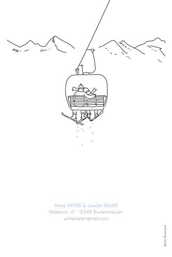 Hochzeitseinladungen Winterhochzeit weiß - Seite 4