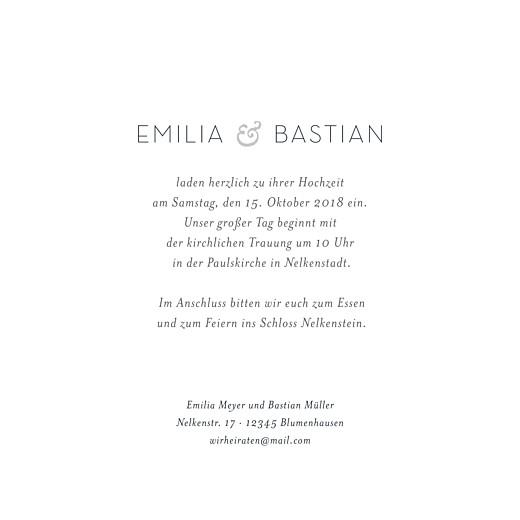 Hochzeitseinladungen Waldgeflüster grün - Seite 3