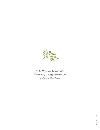 Hochzeitseinladungen Waldgeflüster (hoch) grün - Seite 2