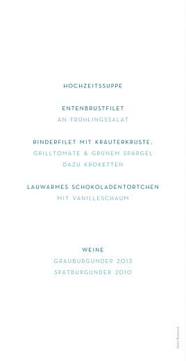 Menükarte Frühlingshauch weiß - Seite 2