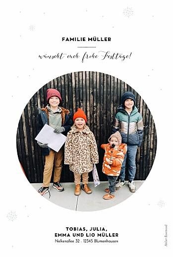 Weihnachtskarten Hirsch weiß - Seite 2