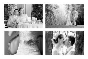 Dankeskarten Hochzeit Einzigartig weiß