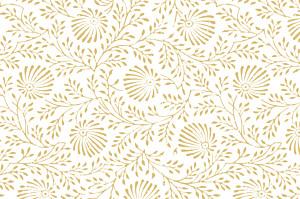 Grußkarten klassisch idylle gelb