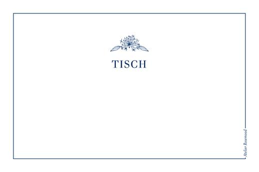 Tischkarten Hochzeit Naturnah blau - Seite 2