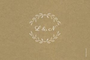 Tischkarten Hochzeit Lyrik sand
