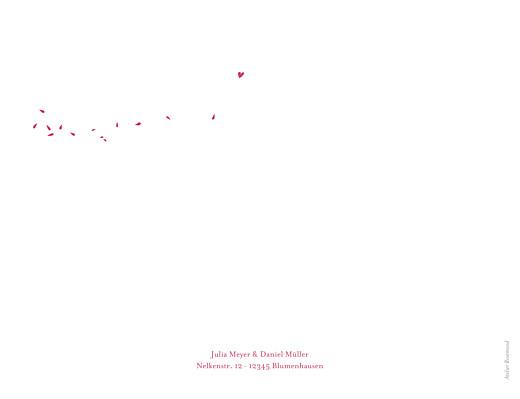 Hochzeitseinladungen Blumenstrauß rot - Seite 4