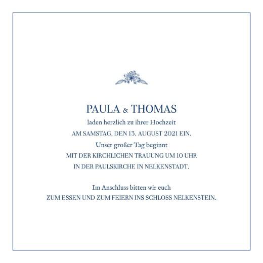 Hochzeitseinladungen Naturnah (gold) blau - Seite 3