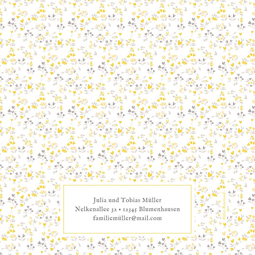 Geburtskarten Liberty herz klappkarte (gold) gelb - Seite 4