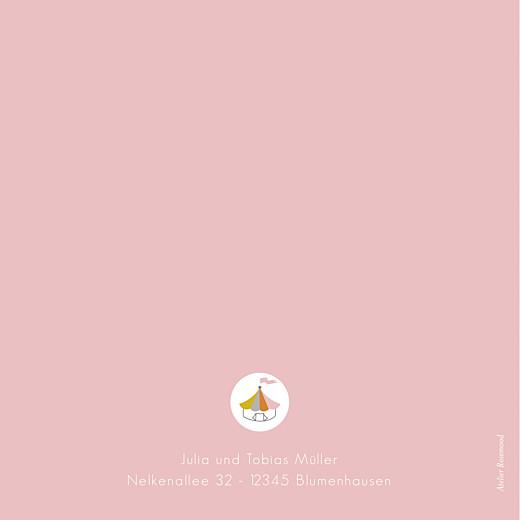 Geburtskarten Zirkus rosa - Seite 4