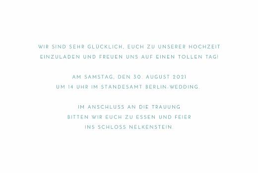 Hochzeitseinladungen Frühlingshauch klappkarte weiß - Seite 3