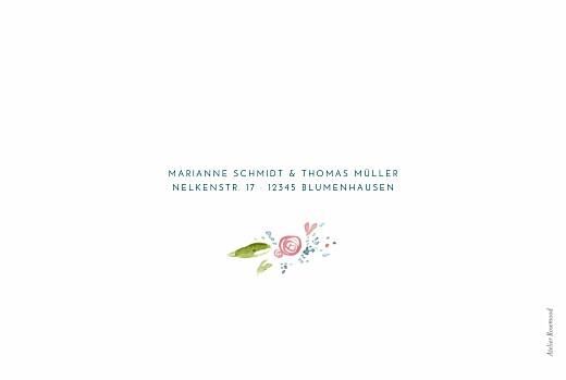 Hochzeitseinladungen Frühlingshauch klappkarte weiß - Seite 4