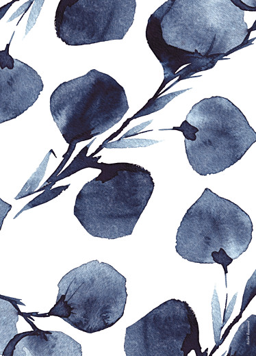 Kirchenheft Hochzeit Blütenblätter blau - Seite 4