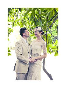 Kleine Poster Hochzeit Souvenir hoch weiß