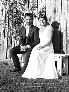Kleine Poster Hochzeit Unser hochzeitstag hoch weiß