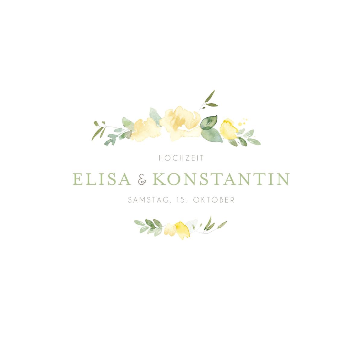 Hochzeitseinladungen Englischer Garten - Atelier Rosemood