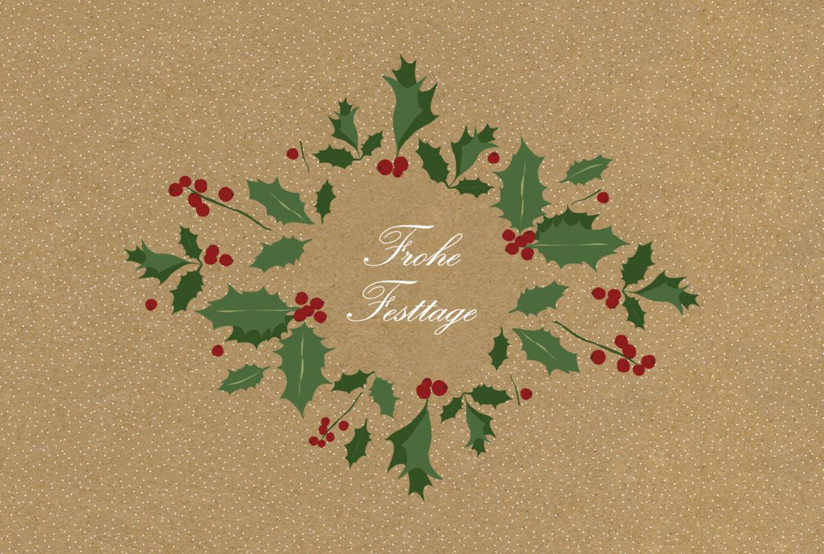 weihnachtskarte winterstimmung atelier rosemood. Black Bedroom Furniture Sets. Home Design Ideas