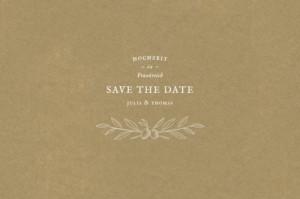 Save-the-Date Karte Provence sand