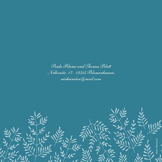 Hochzeitseinladungen Naturspiel (klappkarte) blau - Seite 4