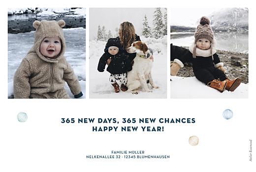Weihnachtskarten Blattgold 3 fotos (gold) blau - Seite 2