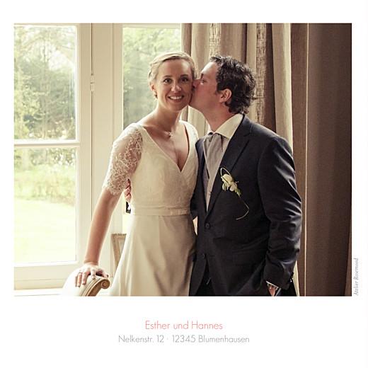 Dankeskarten Hochzeit Portfolio 3 fotos weiß - Seite 4
