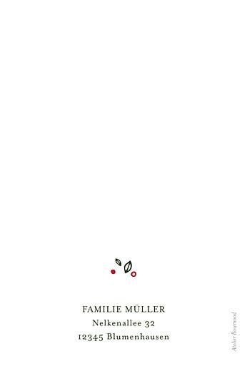 weihnachtskarte adventskranz klappkarte atelier rosemood. Black Bedroom Furniture Sets. Home Design Ideas