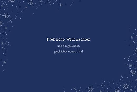 Weihnachtskarten Wintertage (klappkarte) blau - Seite 3