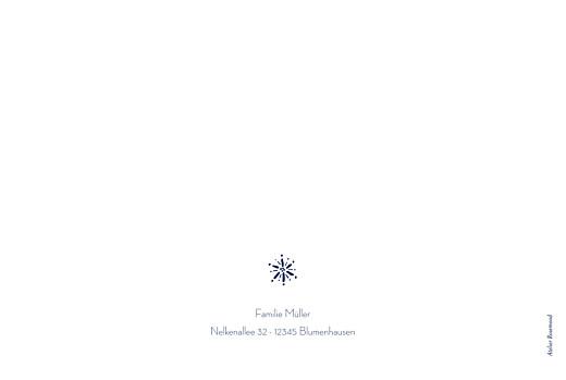 Weihnachtskarten Wintertage (klappkarte) blau - Seite 4