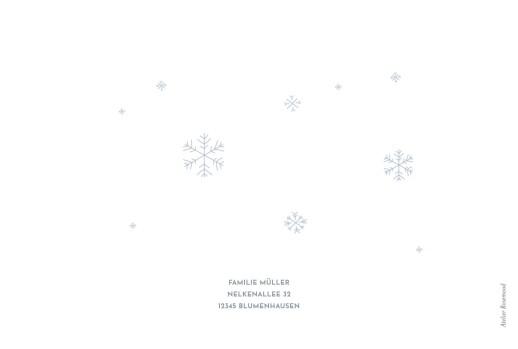 weihnachtskarten winter im warmen klappkarte atelier. Black Bedroom Furniture Sets. Home Design Ideas