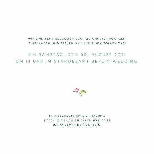 Hochzeitseinladungen Frühlingshauch (quadratisch) weiß - Seite 3