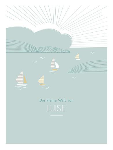 Poster klein Horizont grün - Seite 1