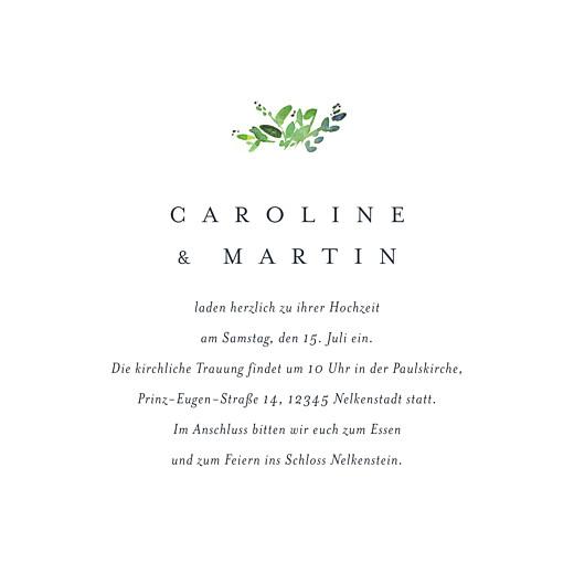 Hochzeitseinladungen Naturschmuck grün - Seite 3