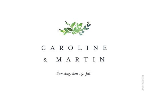 Tischkarten Hochzeit Naturschmuck grün - Seite 2