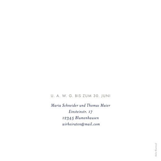 Hochzeitseinladungen Blütenblätter blau - Seite 2