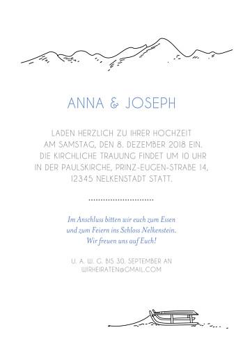 Hochzeitseinladungen Winterhochzeit weiß - Seite 3