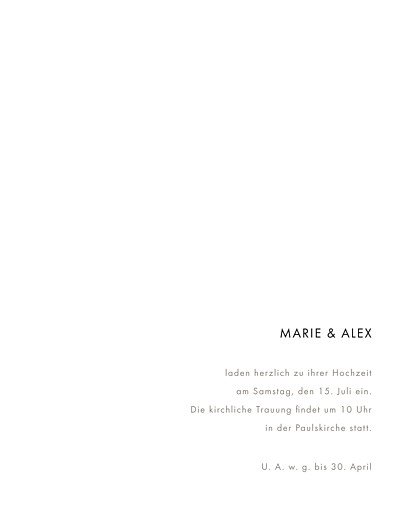 Hochzeitseinladung Edle funken (gold) marineblau