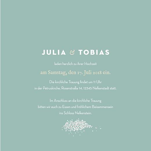 Hochzeitseinladungen Schleier grün - Seite 3