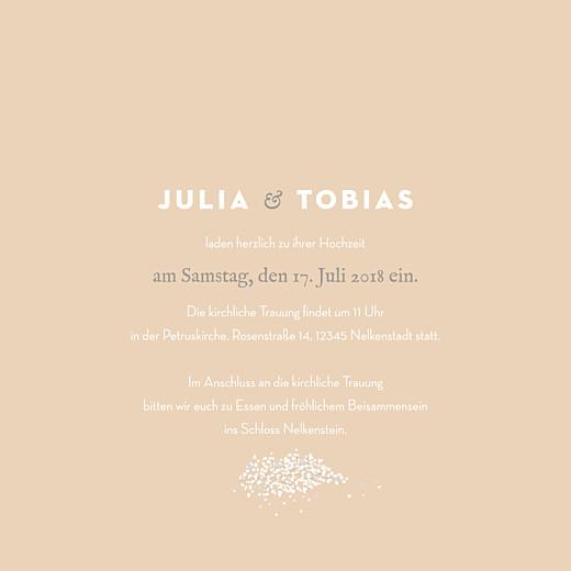 Hochzeitseinladungen Schleier beige - Seite 3