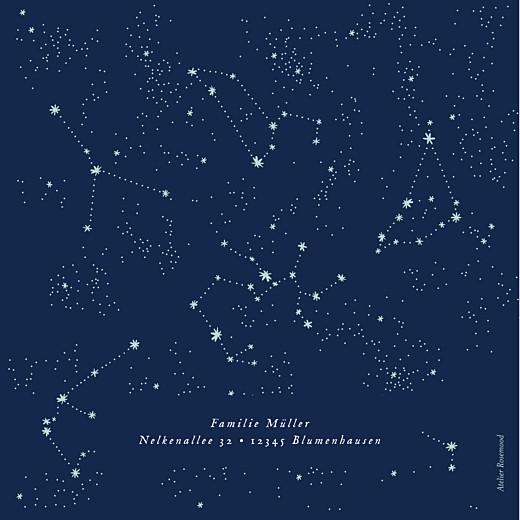 Geburtskarten Universum (klappkarte) nachtblau - Seite 4
