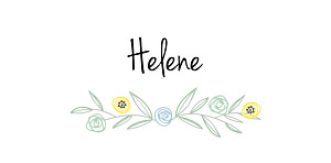 Platzkarte Taufe Blütenzauber zartgrün