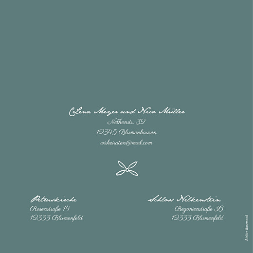 Hochzeitseinladungen Lyrik grün - Seite 4