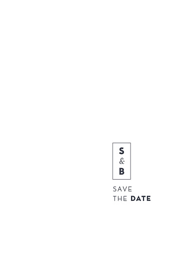 Save-the-Date Karten Laure de sagazan (gold) weiß