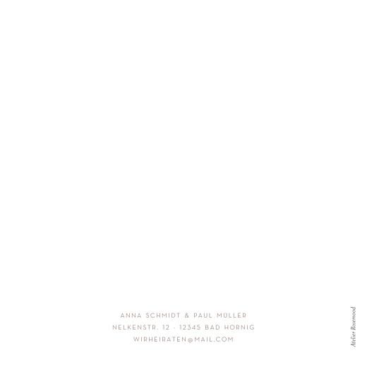 Hochzeitseinladungen Elegant foto weiß - Seite 4
