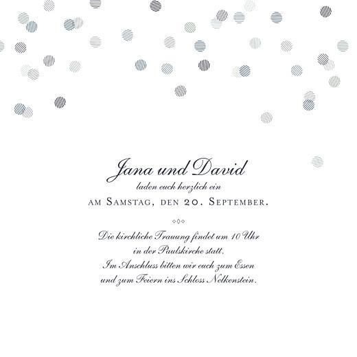 Hochzeitseinladungen Lichterregen (gold) tintenblau - Seite 3