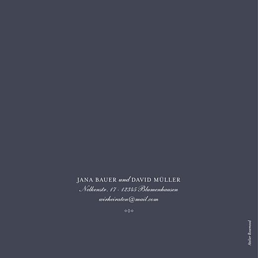 Hochzeitseinladungen Lichterregen (gold) tintenblau - Seite 4