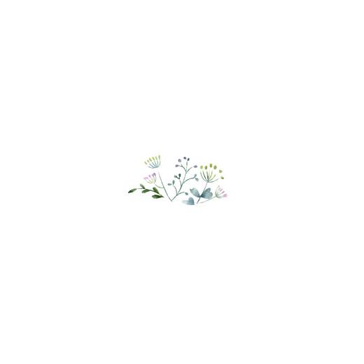Beilegekarte Wildblumen quadrat rosa - Seite 2