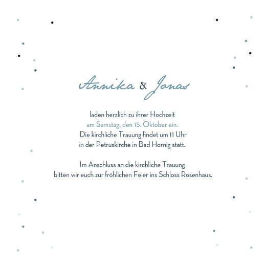 Hochzeitseinladungen Sommernacht (gold) blau - Seite 3