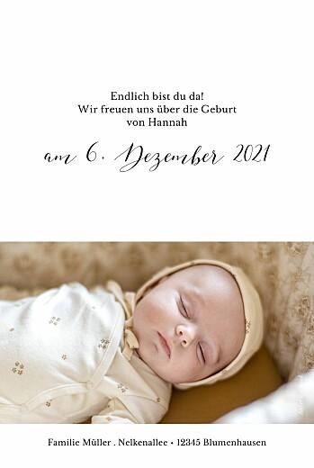 Geburtskarten Little big one 2 fotos weiß - Seite 2