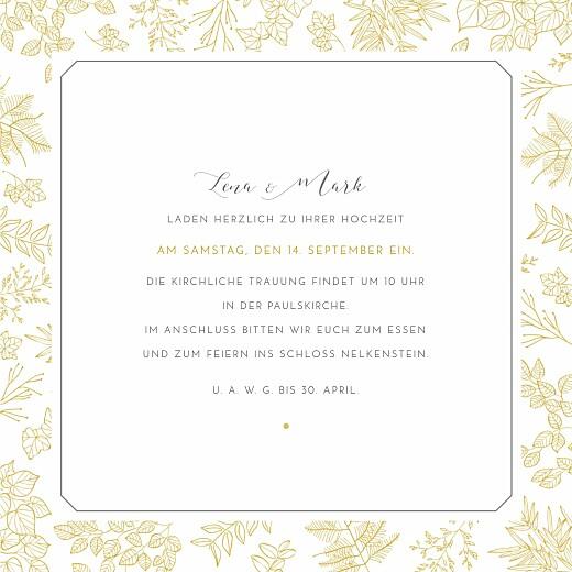 Hochzeitseinladungen Feine blätter gelb - Seite 3