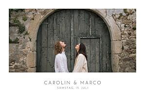 Hochzeitseinladungen fotos elegant foto lang weiß
