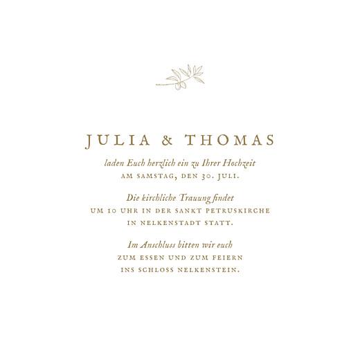 Hochzeitseinladungen Provence (klappkarte) sand - Seite 3